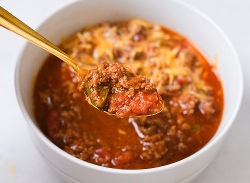 An Instant Pot Chili Recipe That's Keto | Eat This Not That