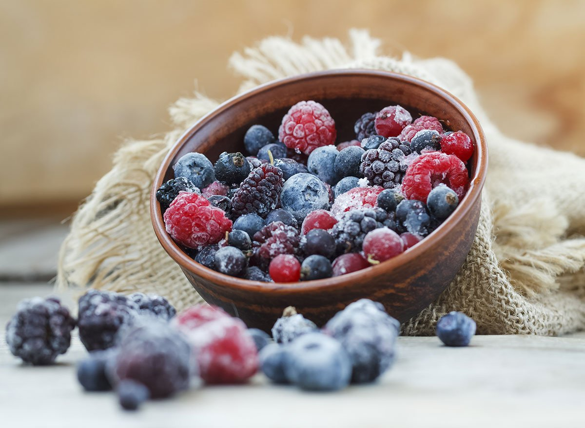 6 Frozen Foods To Eat for a Longer Life, Say Doctors