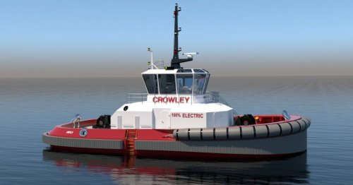 First fully electric tugboat in US to set sail with more than 6 MWh of batteries