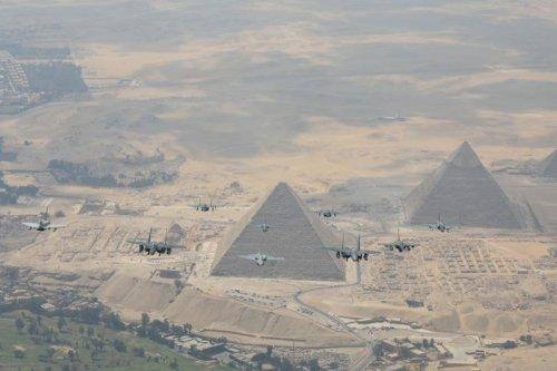 LOS TYPHOONS DE LA RAF VUELAN CON LA FUERZA AÉREA EGIPCIA DESPUÉS DE DOS DÉCADAS - La Enciclopedia