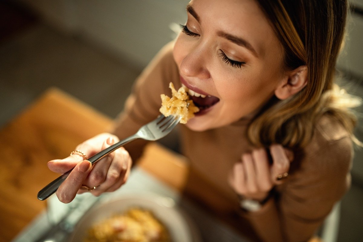 One Major Effect of Eating Pasta, Says Science