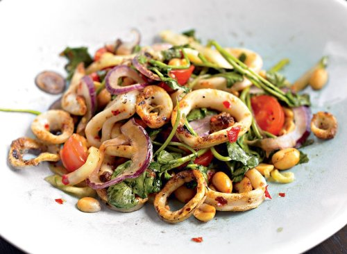 A Grilled Calamari Salad Recipe That's Not Fried | Eat This Not That