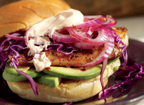 Blackened Fish Sandwich Recipe With Avocado | Eat This Not That