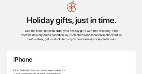 Apple launches new shopping guide with deadlines for ordering in time for the holidays - 9to5Mac
