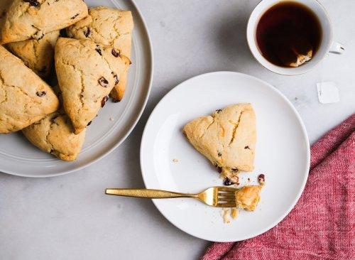 Low-Sugar Cranberry Orange Scones Recipe   Eat This Not That
