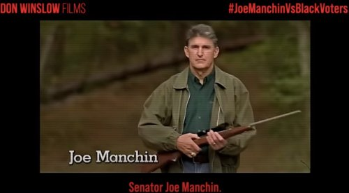 """New video demolishes Joe Manchin for """"standing with racists"""" 
