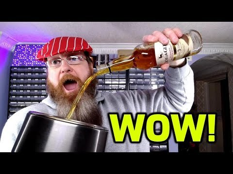 YouTuber's whisky experiment gets a very crabby response from his whisky connoisseur brother Ralfy | Boing Boing