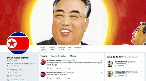 Twitter locks down DPRK News, famous parody account mocking North Korea's furious yet florid news agency | Boing Boing