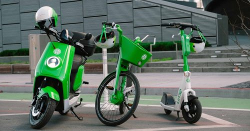 First US city gets Lime's affordable rent-by-the-minute electric mopeds