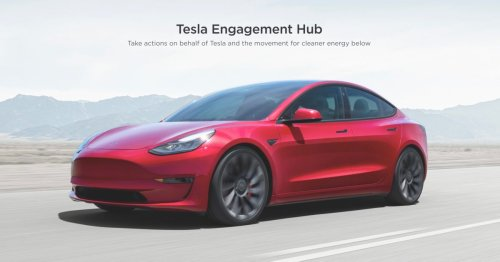 Tesla launches new social media platform to 'engage' its community and promote policies - Electrek