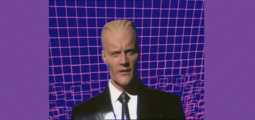 Retro Review   Max Headroom (1985) - The Unheard Nerd