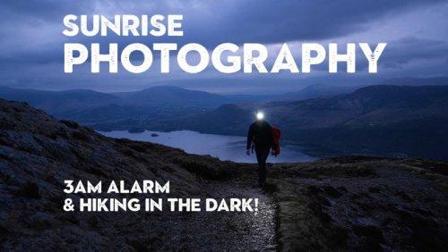 Landscape photography inspiration: Catch the sunrise