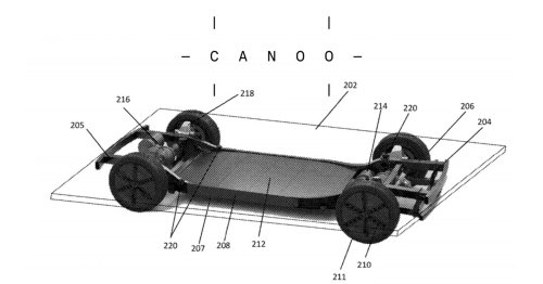 Canoo platform patent joins USPTO database; at least 50 more patents pending worldwide