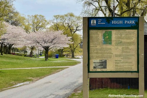 Cherry Blossoms In High Park Toronto - Retired And Travelling