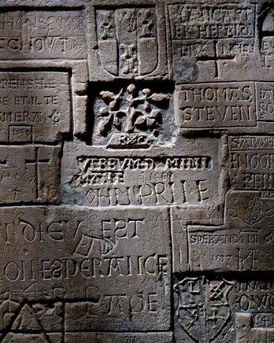 Graffiti At The Tower Of London