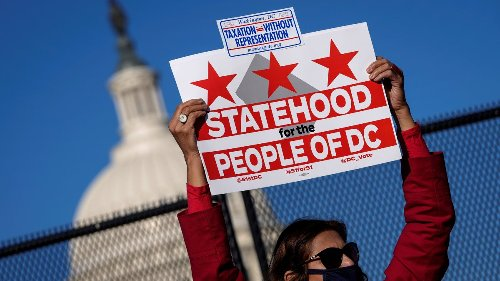 Watch Live: House Committee to Vote on DC Statehood Bill