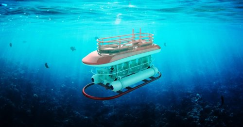 Awesomely Weird Alibaba EV of the Week: Don't buy this electric submarine