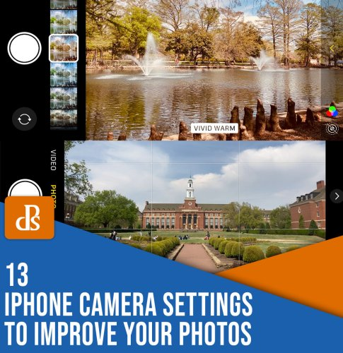 13 iPhone Camera Settings to Improve Your Photos