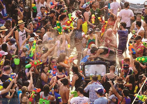 For the second year in a row, Pattaya's biggest party, Wan Lai, Songkran Day, is cancelled, bars are closed, and the city is under Covid-19 restrictions - The Pattaya News