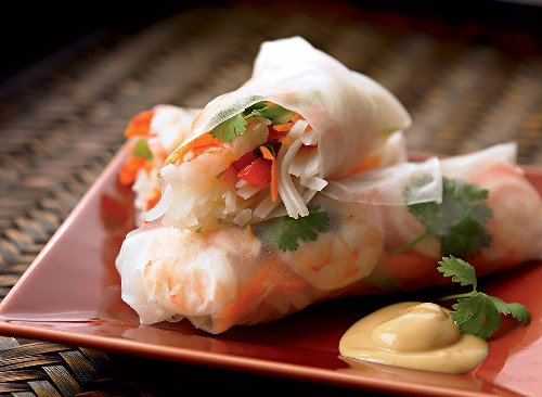 Healthy Summer Roll Recipe With Shrimp and Mango | Eat This Not That