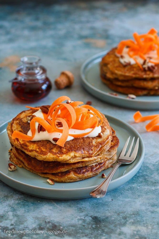 Pfannkuchenliebe: Carrot Cake Pancakes