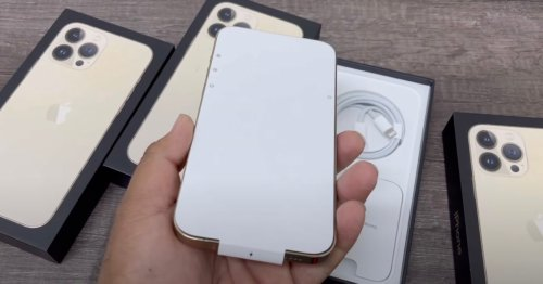 First unboxing video shows off iPhone 13 Pro in gold, packaging tweaks