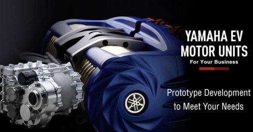 Yamaha develops compact 350 kW motor for EVs, 1900 hp hypercar envisioned - Electrek