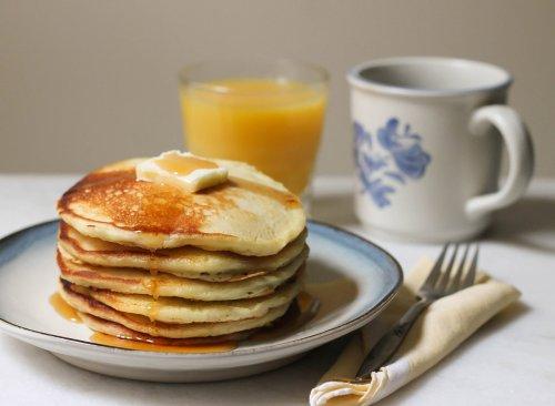 Copycat Cracker Barrel Pancake Recipe | Eat This Not That