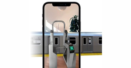 Apple launches new AR experience and Snapchat lens promoting Apple Pay Express Transit - 9to5Mac
