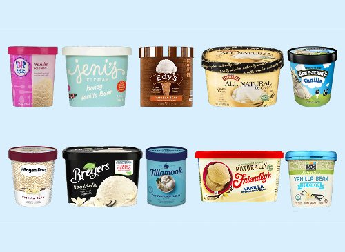 We Taste-Tested 10 Different Vanilla Ice Cream Brands   Eat This Not That