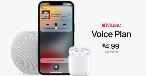 Apple launches new $5 'Voice Plan' for accessing Apple Music exclusively with Siri
