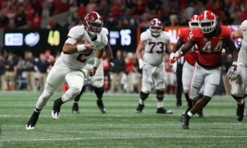 Jalen Hurts to host a youth football camp in Alabama this weekend
