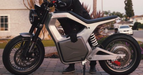 SONDORS Metacycle electric motorcycle gets passenger pegs, better seat