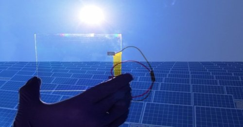 This tech repels dust from solar panels, saving up to 98% of energy