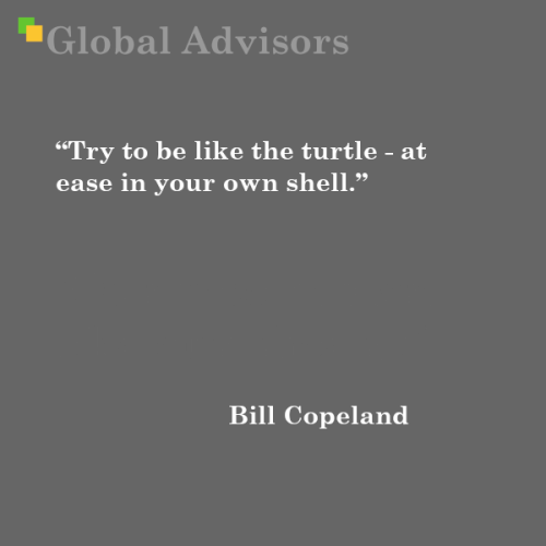 Quote: Bill Copeland - Global Advisors   Quantified Strategy Consulting