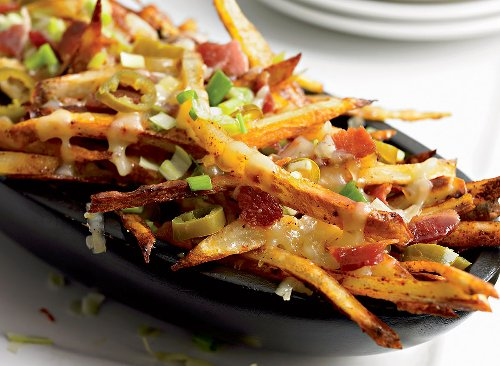 Not-So-Unhealthy Cheese Fries Recipe   Eat This Not That