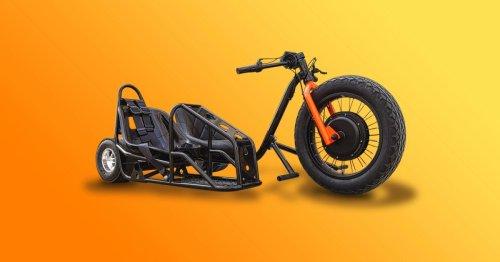Awesomely Weird Alibaba EV of the Week: $950 sidecar electric drift trike