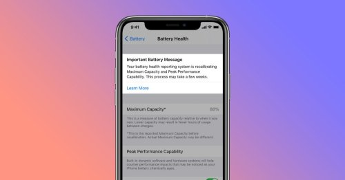 How iPhone battery recalibration works in iOS 14.5 - 9to5Mac