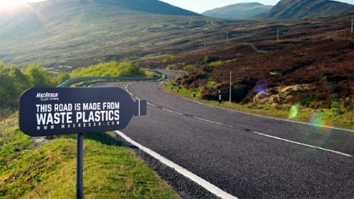 Could Plastic Roads Make For a Smoother Ride?