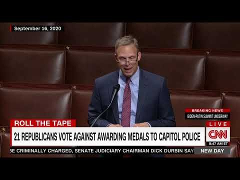 Video destroys 'Back the Blue' republicans who voted against medals for Capitol police | Boing Boing