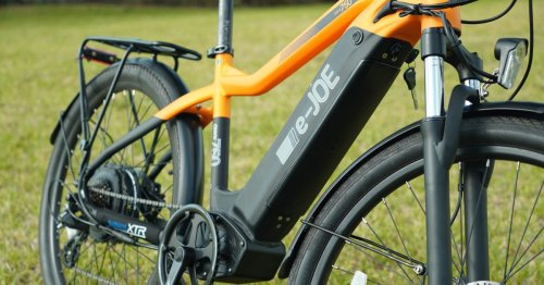 e-JOE ONYX sport commuter e-bike review: mid-drive looks, hub motor power - Electrek
