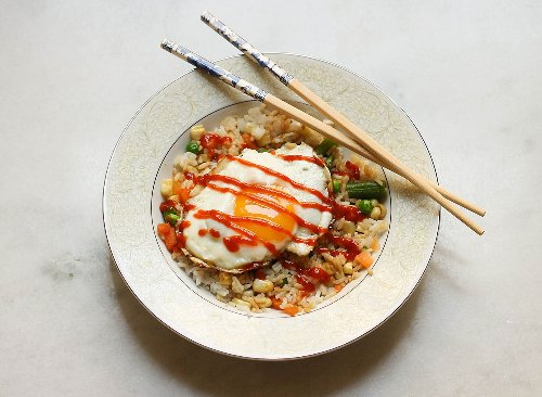 Quick & Easy Vegetarian Rice Bowl Recipe | Eat This Not That
