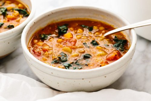 Very Best Lentil Soup | Downshiftology