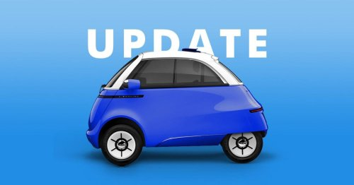 Microlino 2.0, the adorable electric bubble car, seen in new test drive video