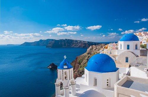 Greek Island Churches