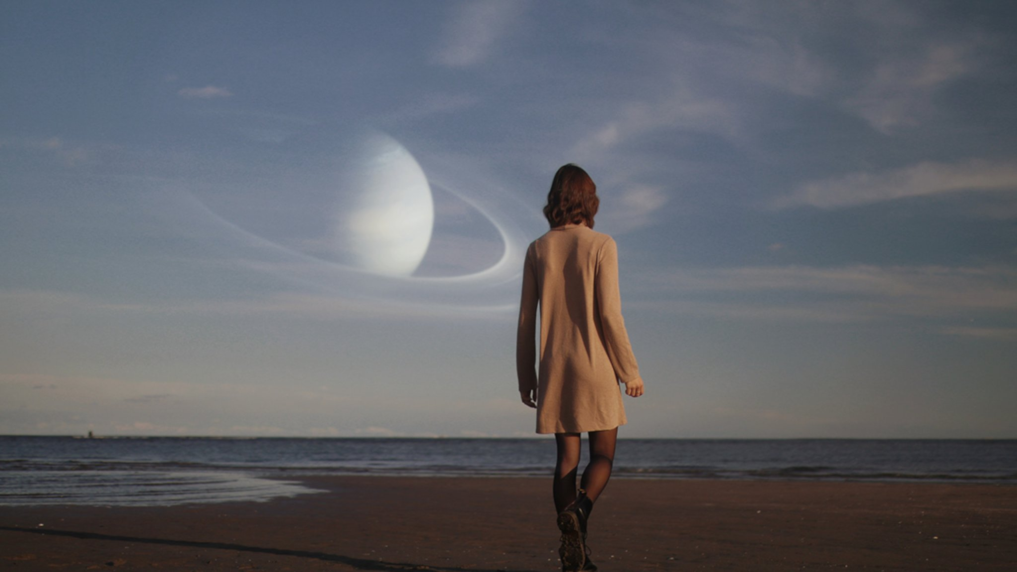 Moody cinematic portraits inspired by dreamy science fiction
