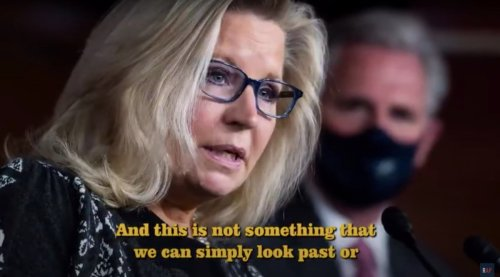 If there are any Republican thinkers out there, watch this clip about January 6, narrated by Liz Cheney | Boing Boing