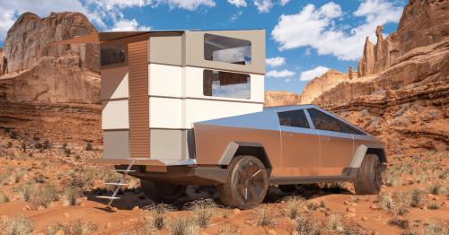 Tesla Cybertruck camper system receives $50 million in orders, and it doesn't even exist yet - Electrek