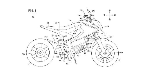 Honda electric minibike seen in patents - is an Honda e-Grom coming?