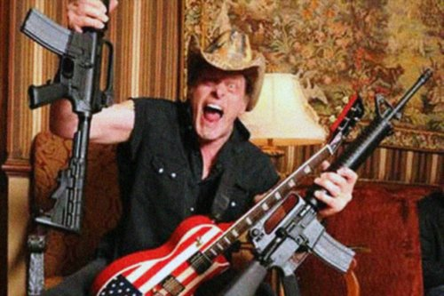Ted Nugent last year: Covid is a scam! Ted Nugent this year: OK so I have Covid | Boing Boing